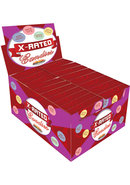 X Rated Candies With Assorted Sayings Mutil Colored 24 Each...
