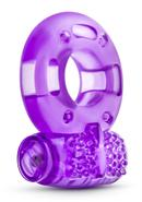 Stay Hard Vibrating Cock Rings Disposable Purple 2 Each Per...