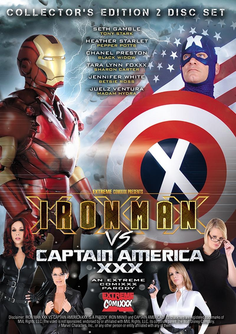 Iron Man Vs Captain America Parody