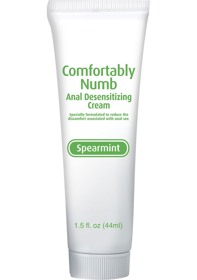 Comfortably Numb Anal Desensitizing Cream Spearmint 1.5 Ounce